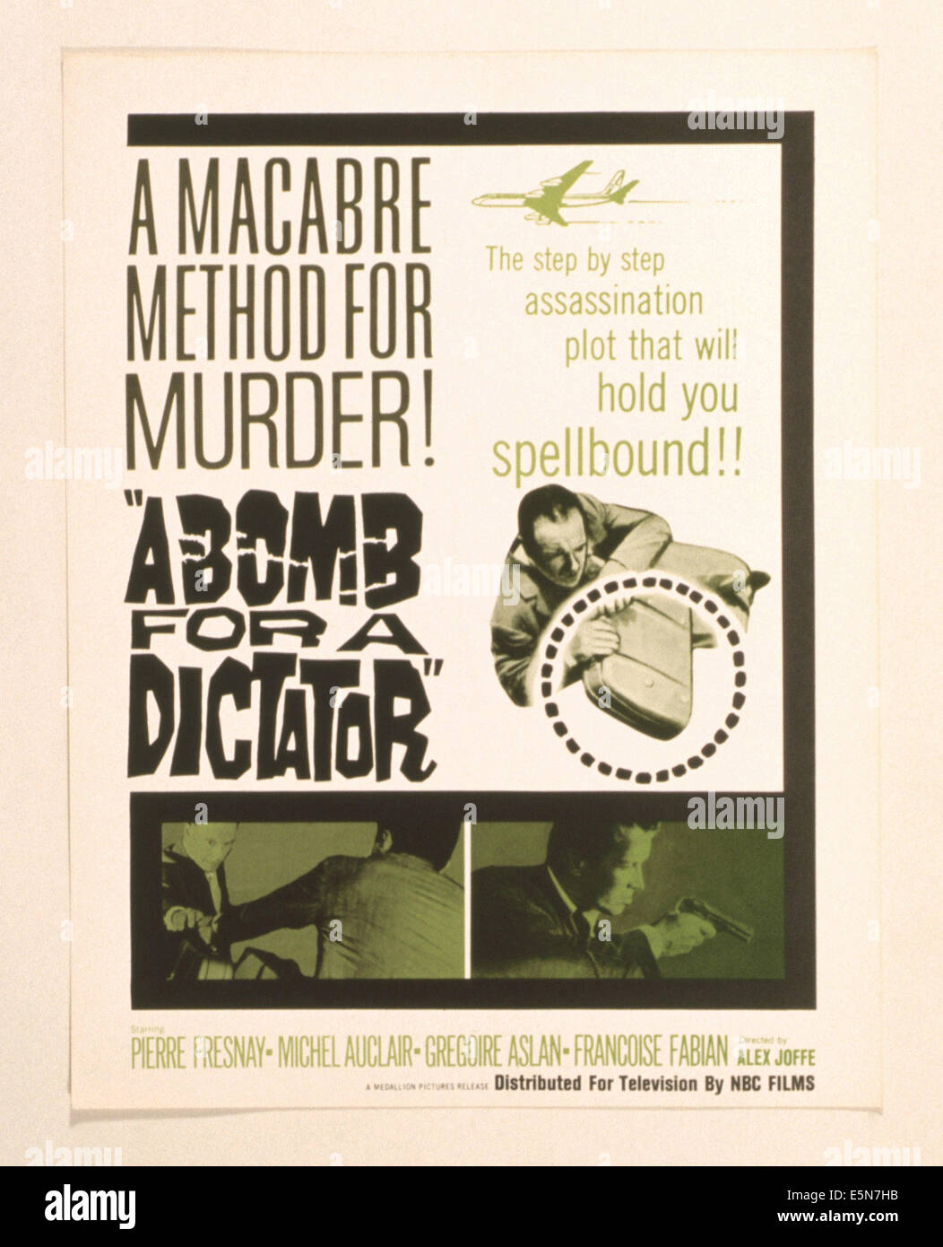 A BOMB FOR A DICTATOR, (aka LES FANATIQUES), 1957 - Stock Image