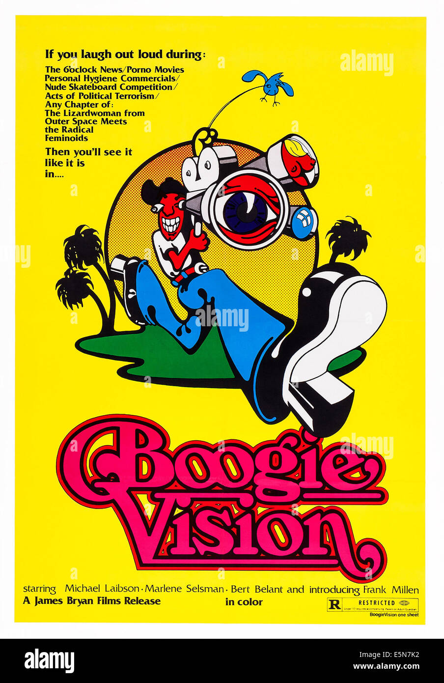 BOOGIEVISION, US poster, 1977 Stock Photo