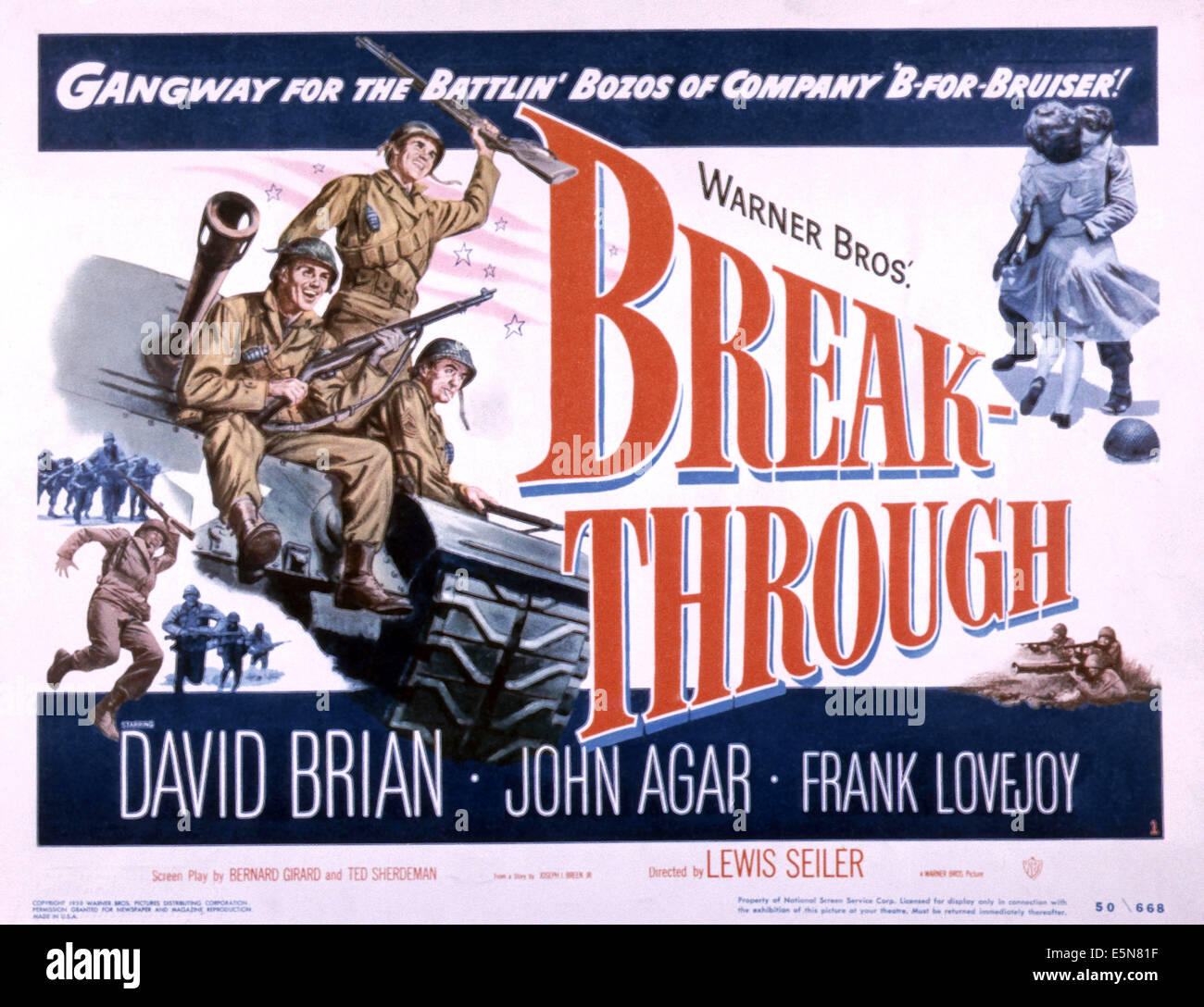 BREAKTHROUGH, 1950 - Stock Image