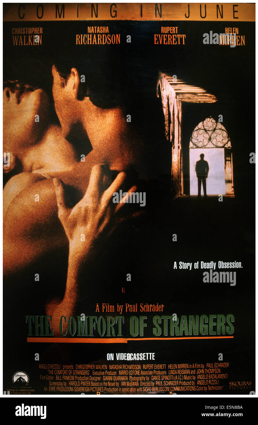 THE COMFORT OF STRANGERS, 1990, © Skouras Pictures/courtesy Everett Collection - Stock Image