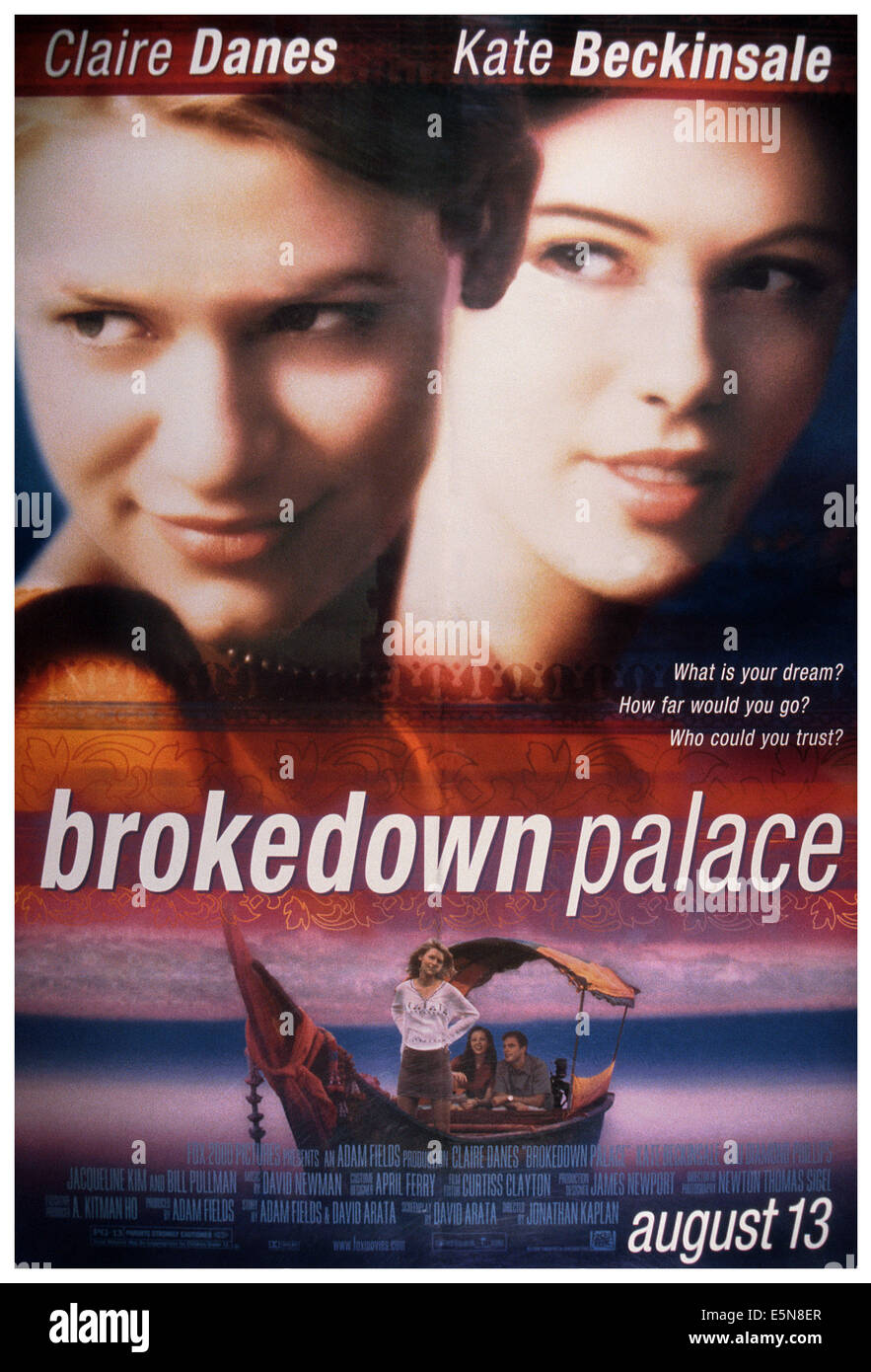 BROKEDOWN PALACE, from left: Claire Danes, Kate Beckinsale, 1998. ©20th Century-Fox Film Corporation, TM & - Stock Image