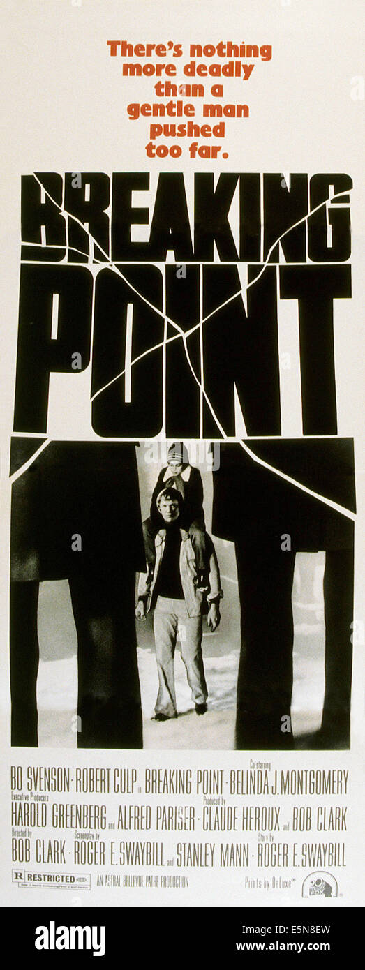 BREAKING POINT, Bo Svenson (bottom), 1976, TM & Copyright © 20th Century Fox Film Corp./courtesy Everett - Stock Image