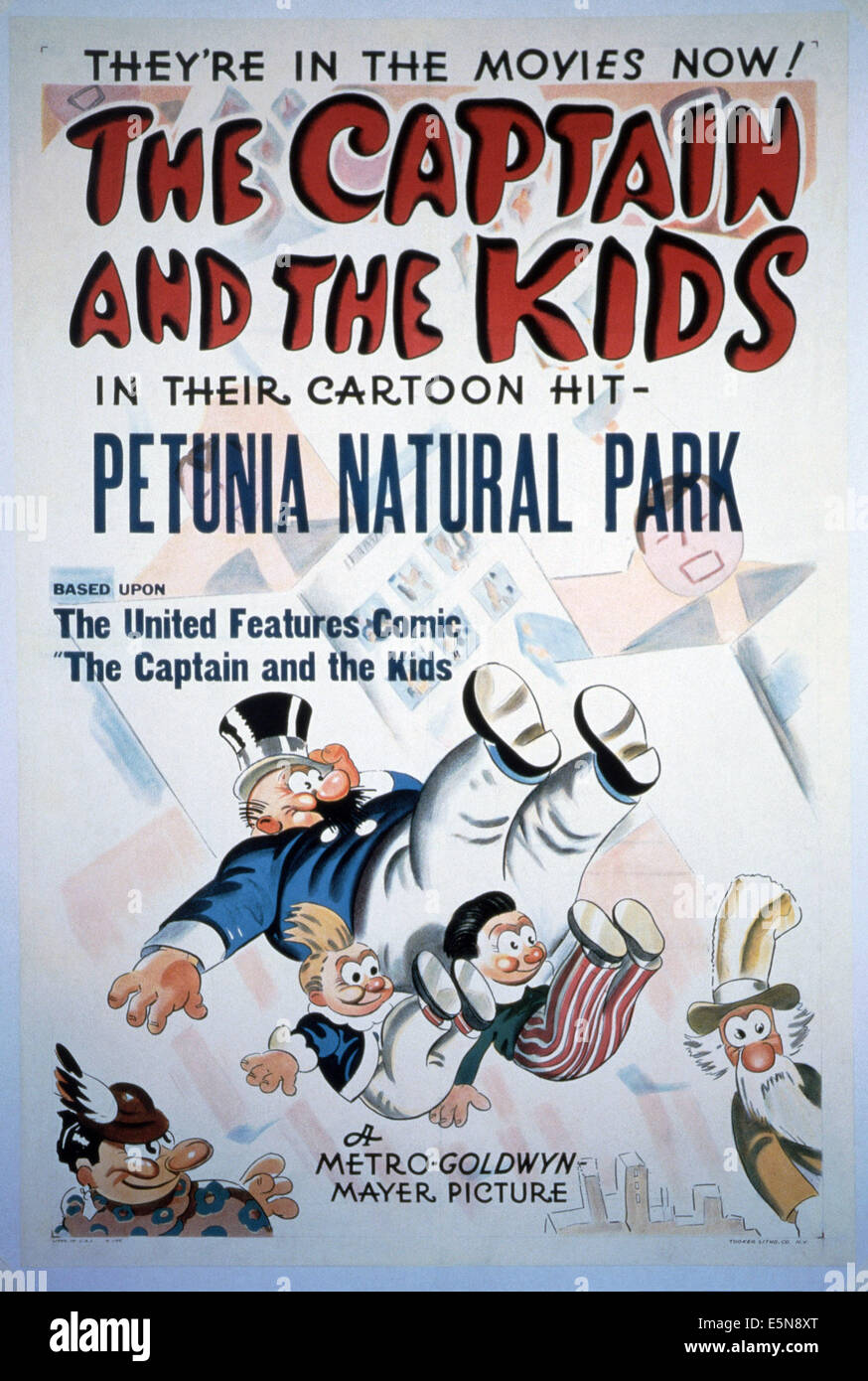PETUNIA NATIONAL PARK, The Captain and the Kids, 1939 - Stock Image