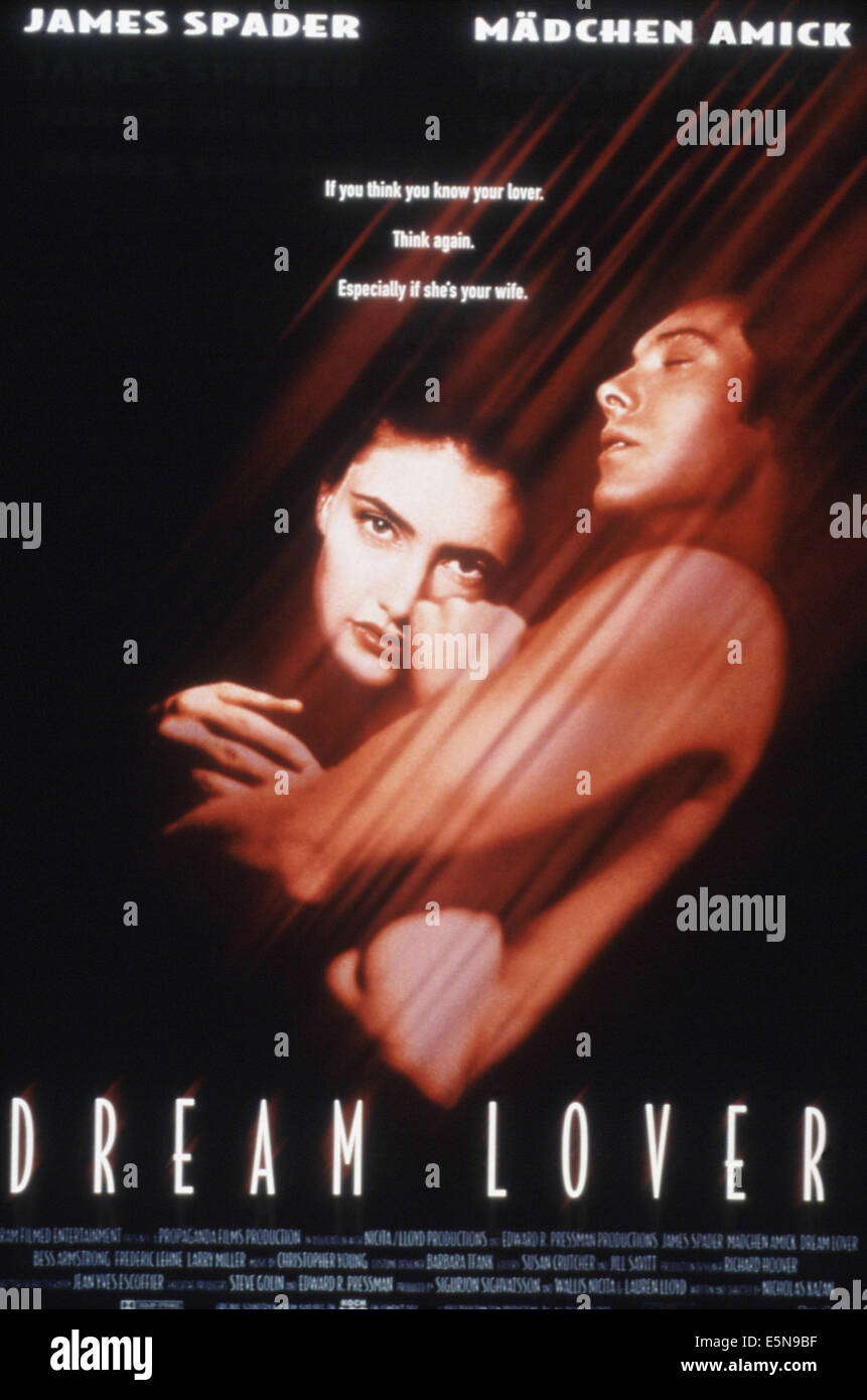 DREAM LOVER, from left: Madchen Amick, James Spader, 1994