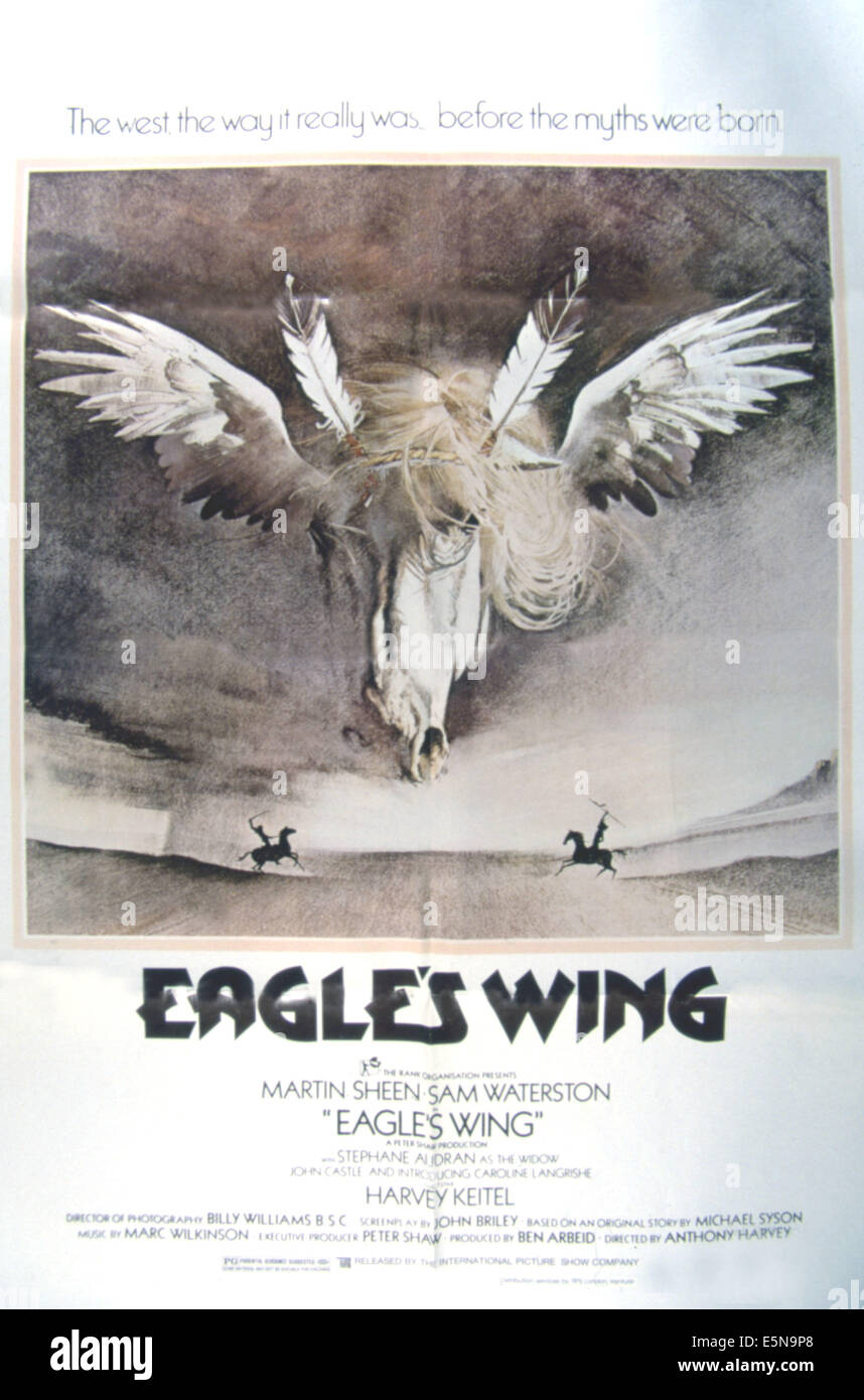 EAGLE'S WING, 1979 - Stock Image