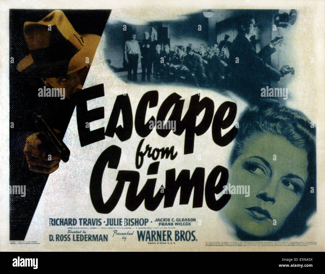 ESCAPE FROM CRIME, Julie Bishop (bottom right), 1942 - Stock Image