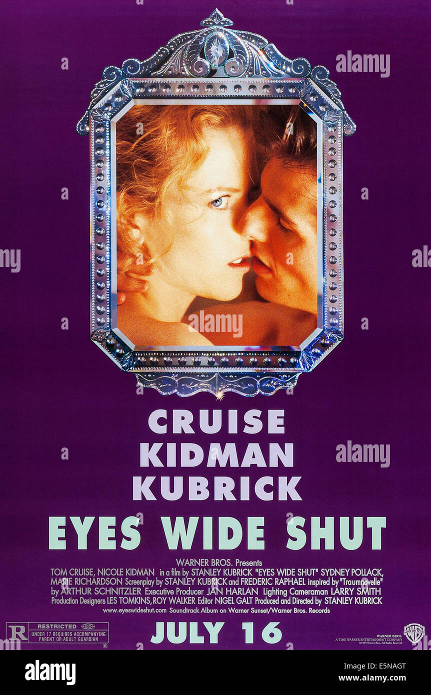 EYES WIDE SHUT, Nicole Kidman, Tom Cruise, 1999, ©Warner Brothers/courtesy Everett Collection - Stock Image