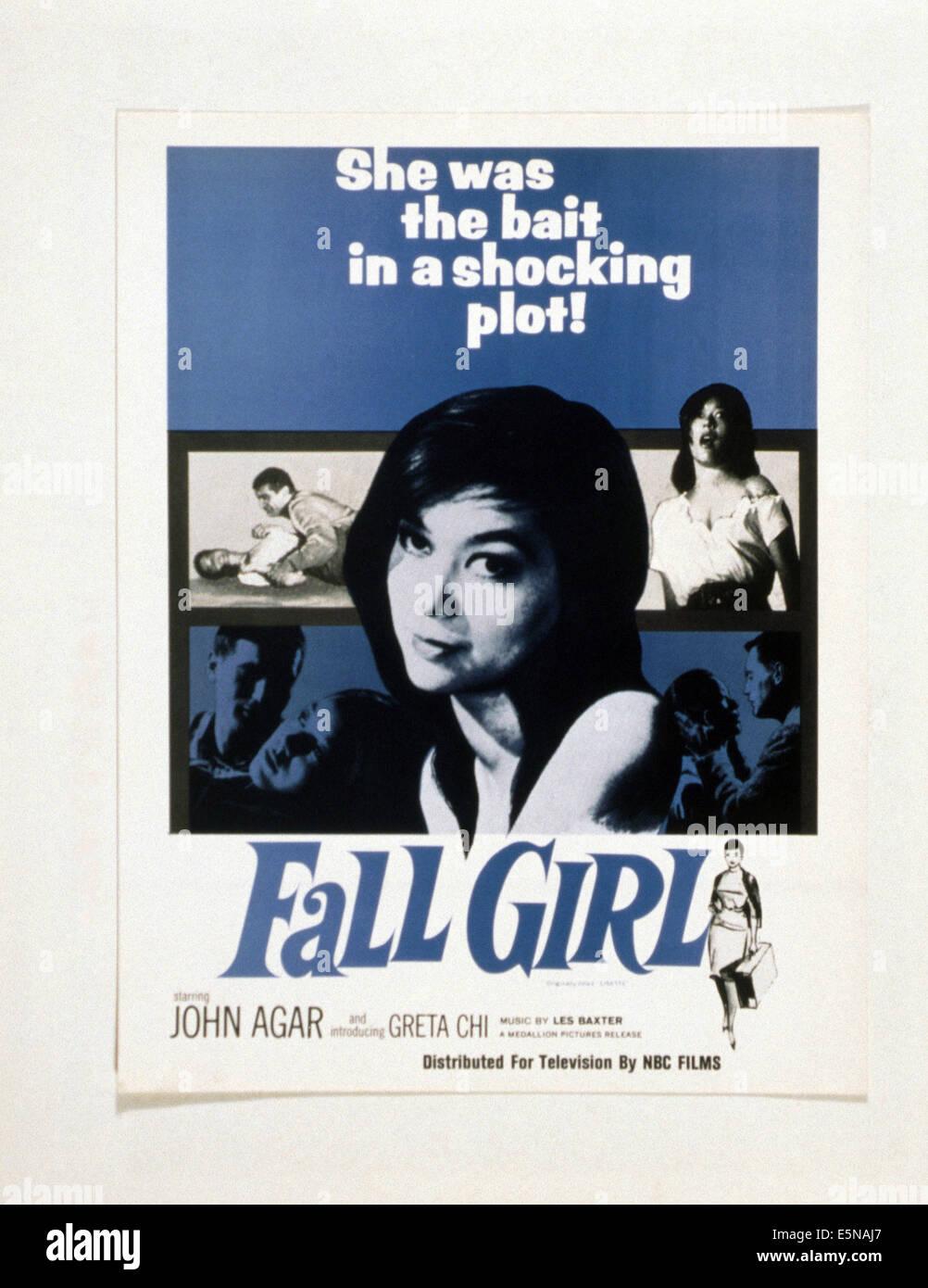 FALL GIRL, Greta Chi, 1961 - Stock Image