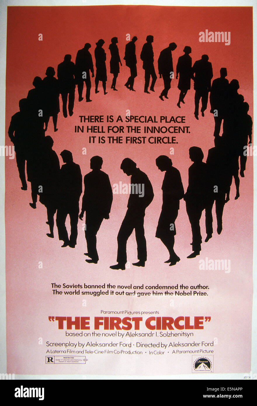 THE FIRST CIRCLE, 1973 - Stock Image