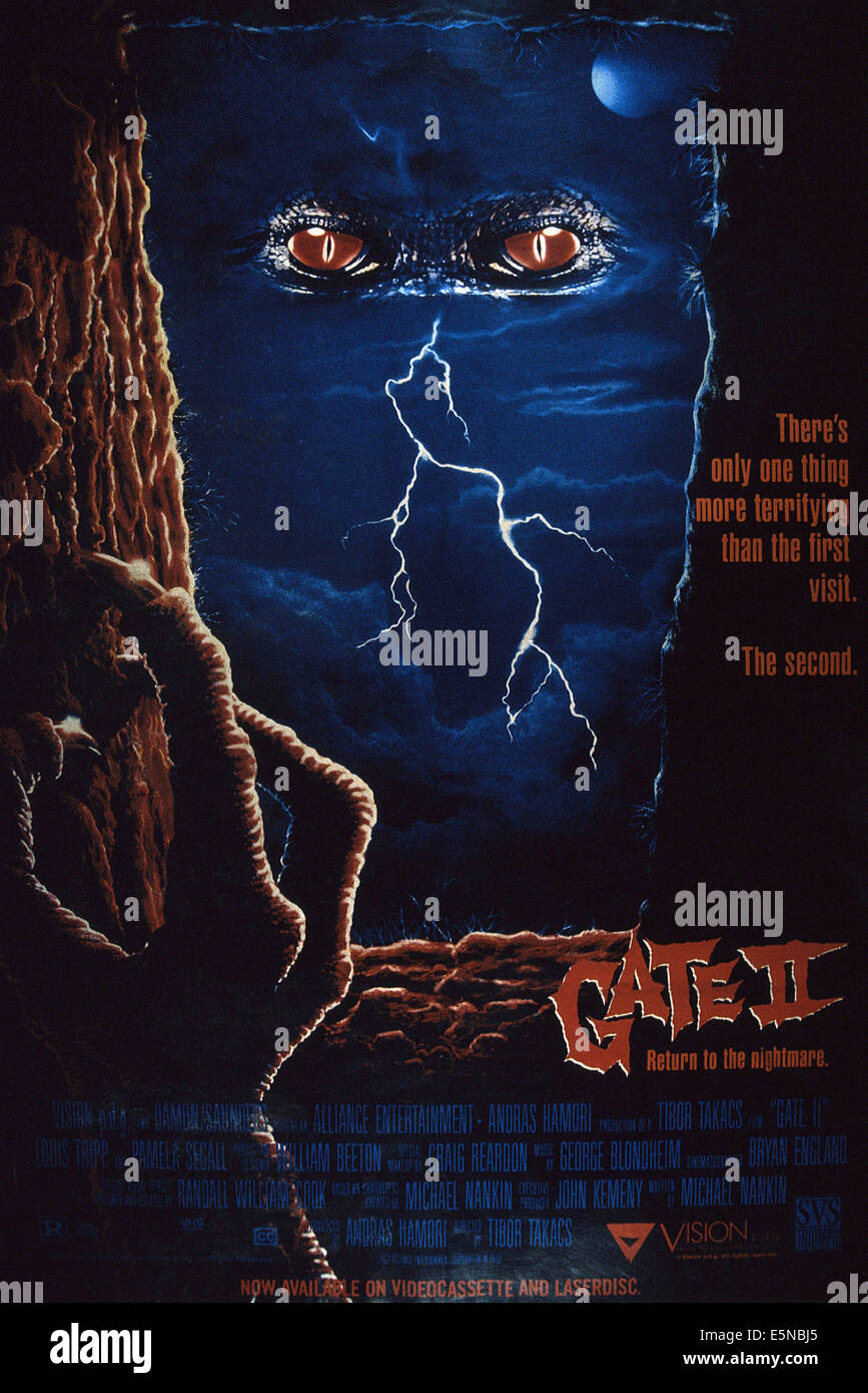 GATE II: THE TRESPASSERS, (aka GATE II: RETURN TO THE NIGHTMARE), 1990, © Triumph Releasing/courtesy Everett - Stock Image