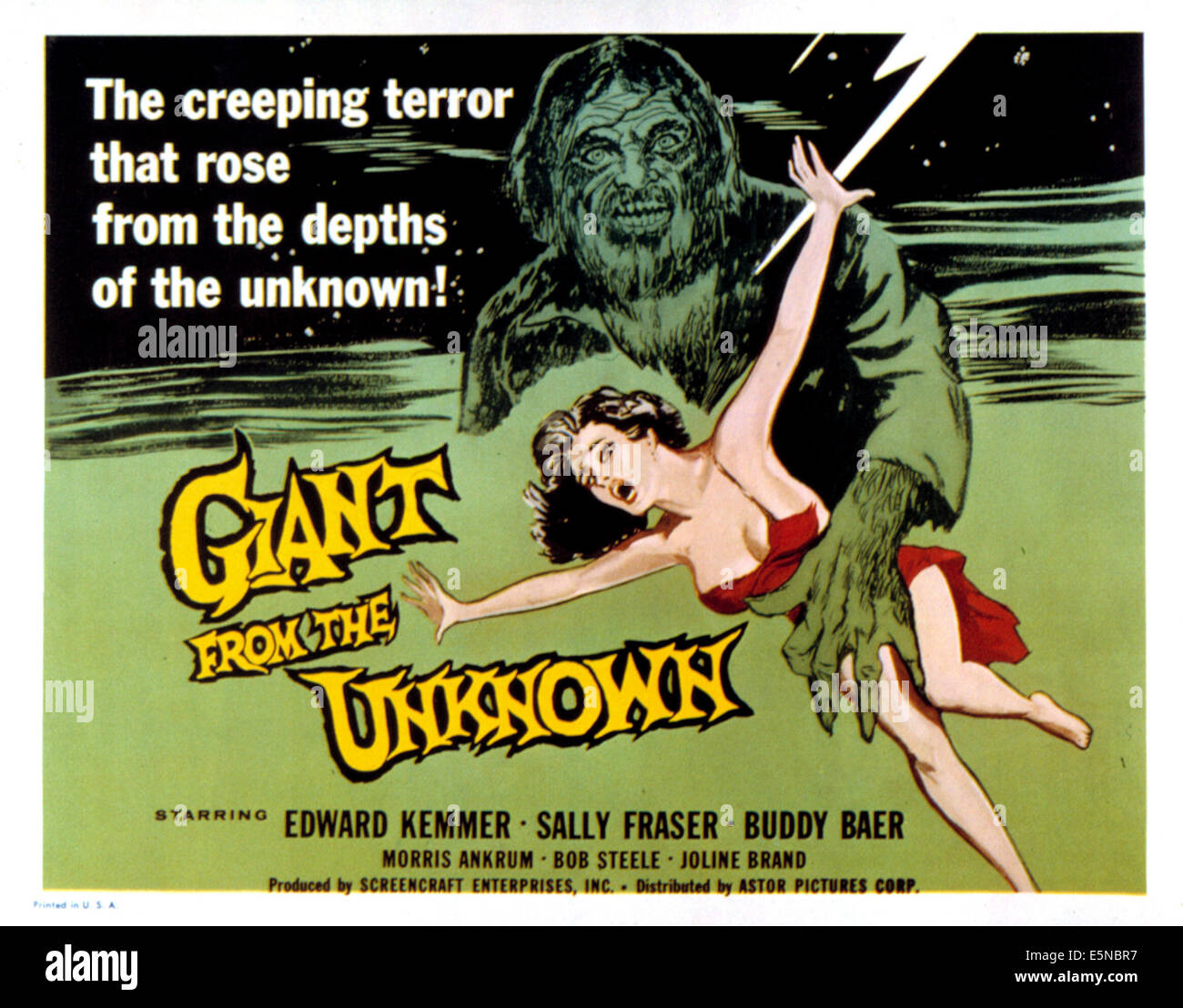 GIANT OF THE UNKNOWN, 1958 - Stock Image