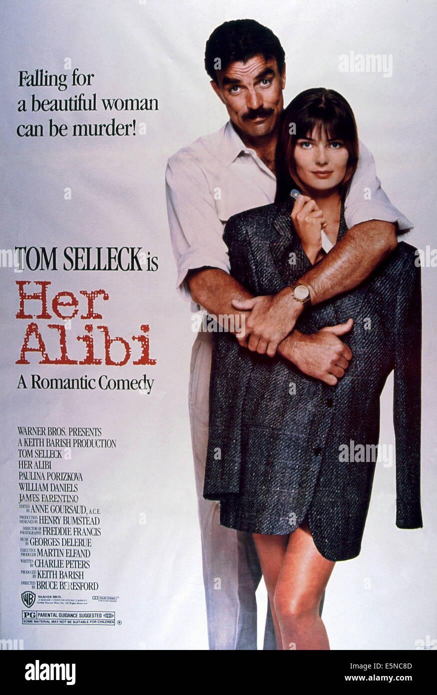 Her Alibi 1989 Tom Selleck Stock Photos Her Alibi 1989 Tom Selleck
