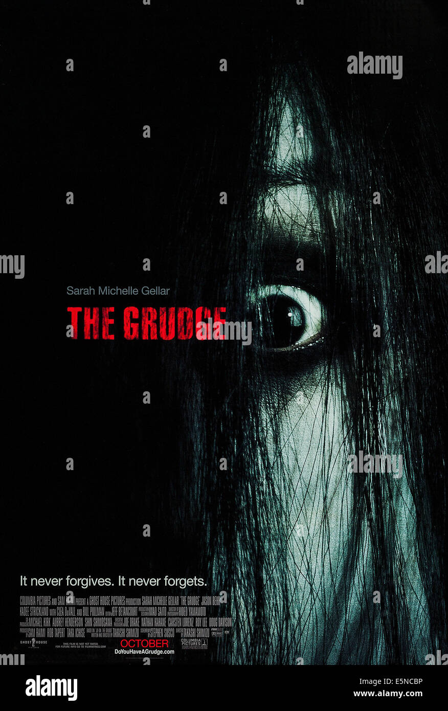 THE GRUDGE, US advance poster art, 2004, © Columbia/courtesy Everett Collection - Stock Image