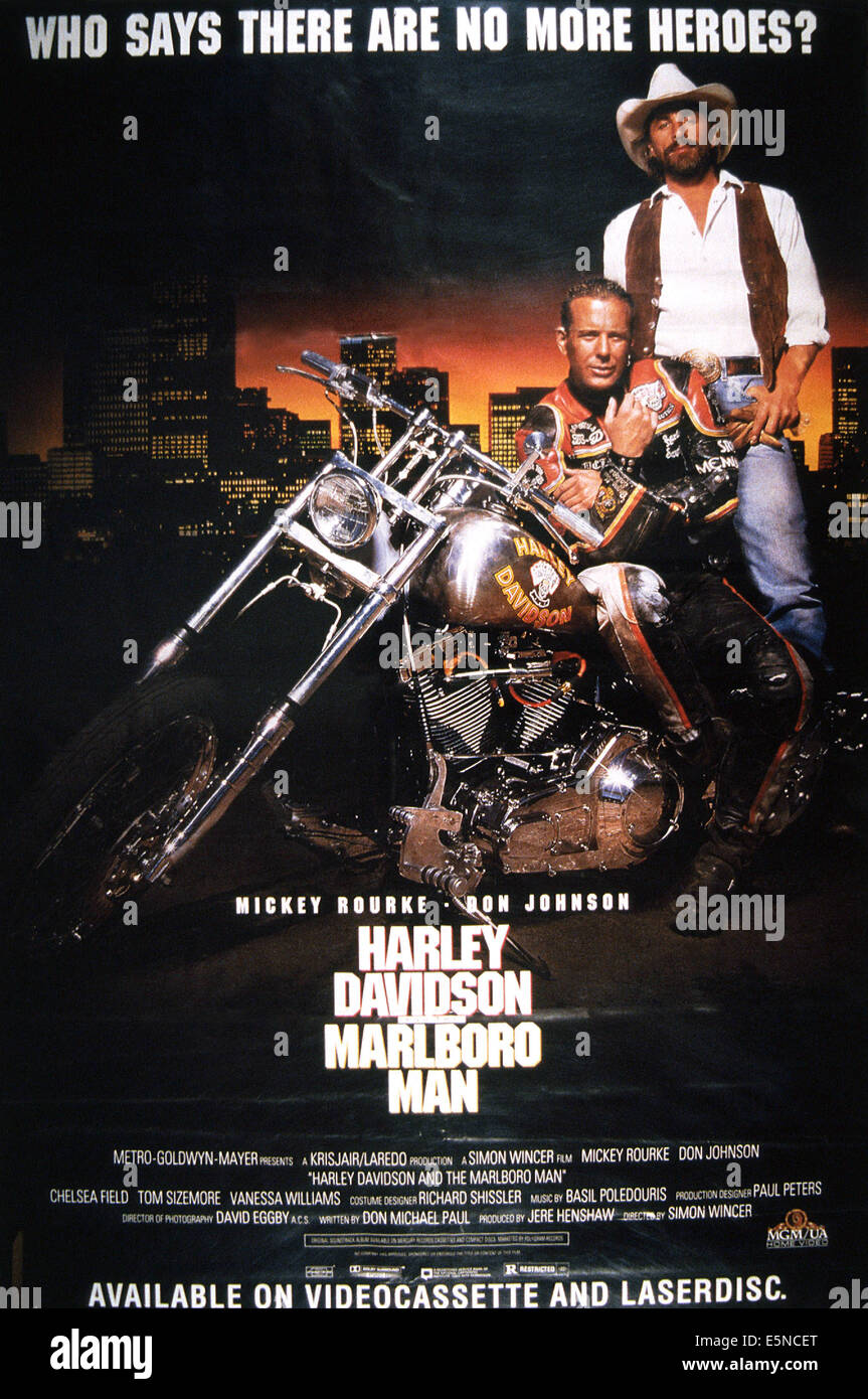 Harley Davidson Poster High Resolution Stock Photography And Images Alamy