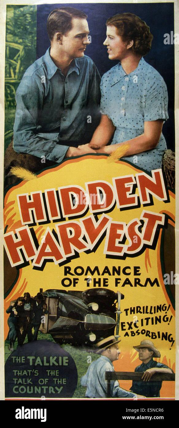 HIDDEN HARVEST, ca. 1930 - Stock Image