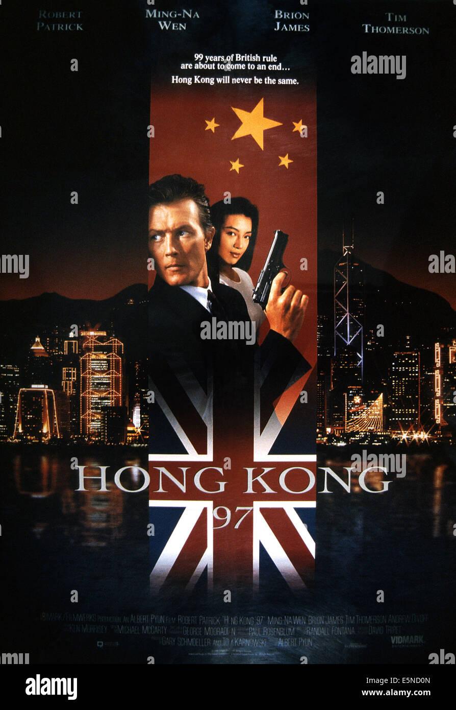 HONG KONG 97, from left: Robert Patrick, Mong-Na Wen, 1994, © Trimark/courtesy Everett Collection - Stock Image