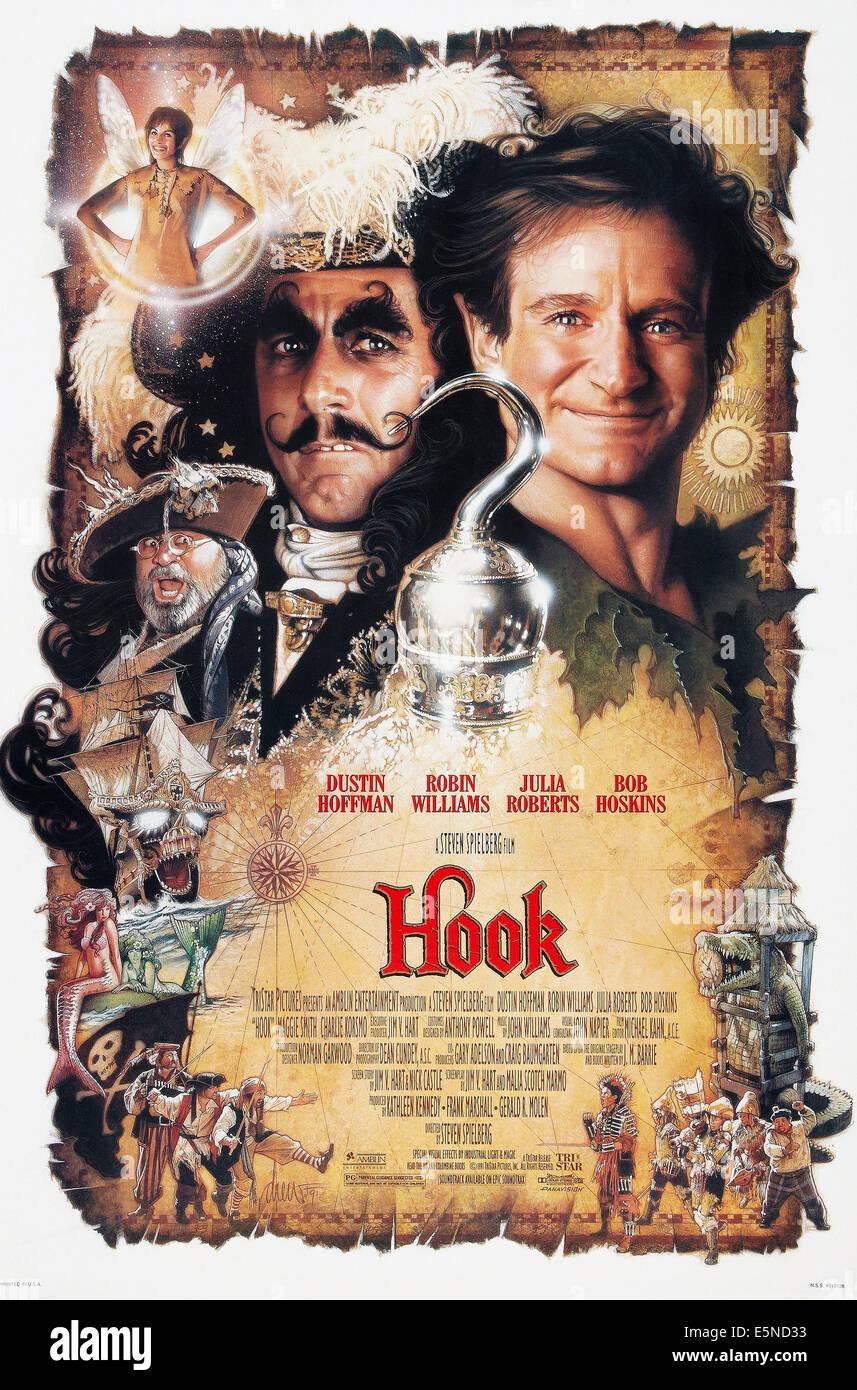 Dustin Hoffman Hook Mustache