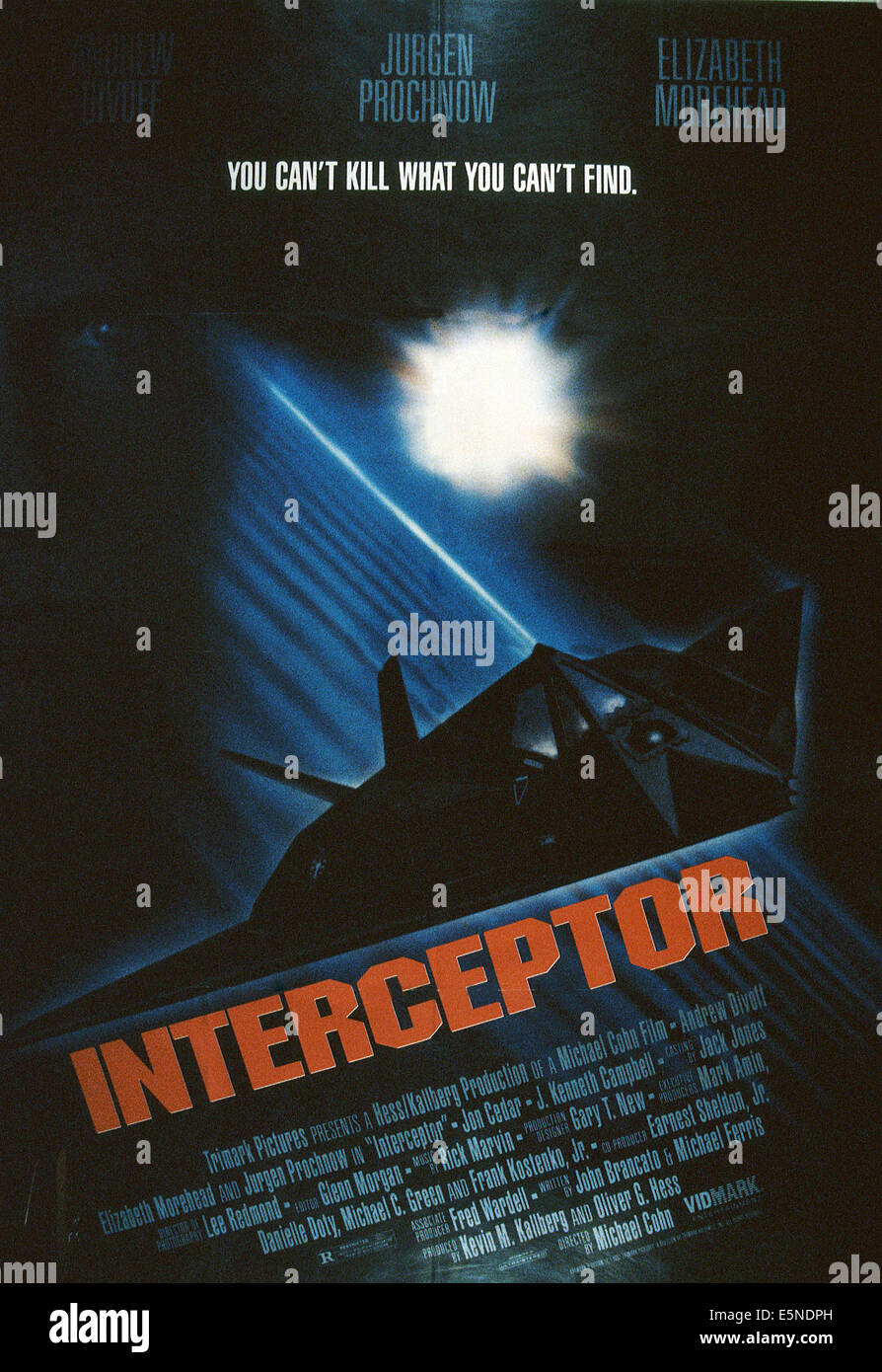 INTERCEPTOR, 1993, © Trimark/courtesy Everett Collection - Stock Image