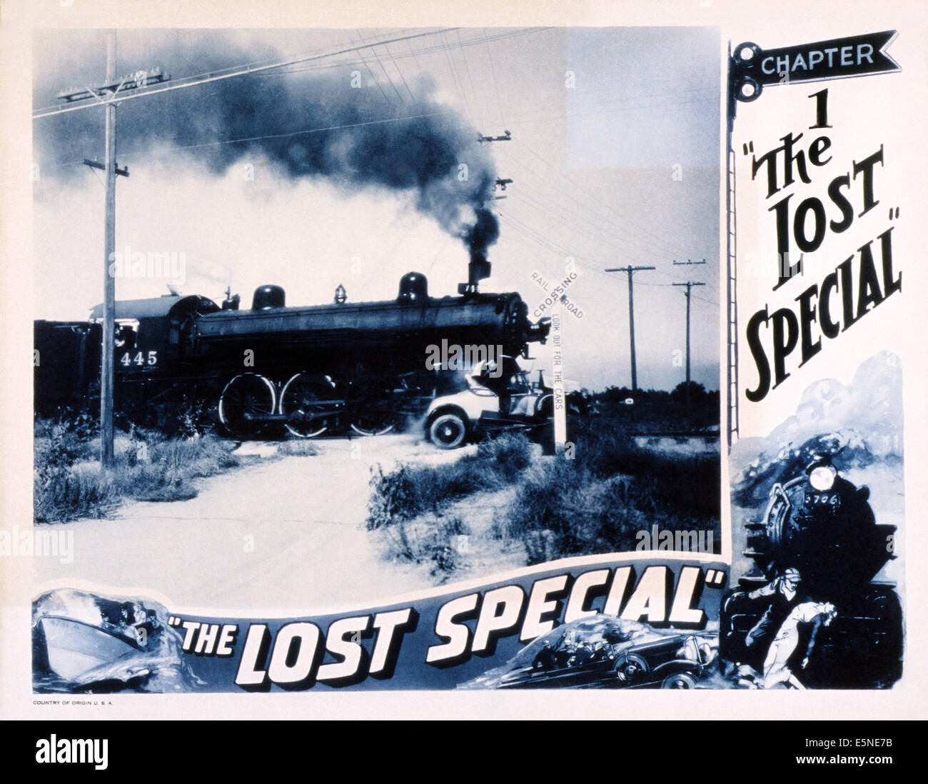 THE LOST SPECIAL, 1932 - Stock Image