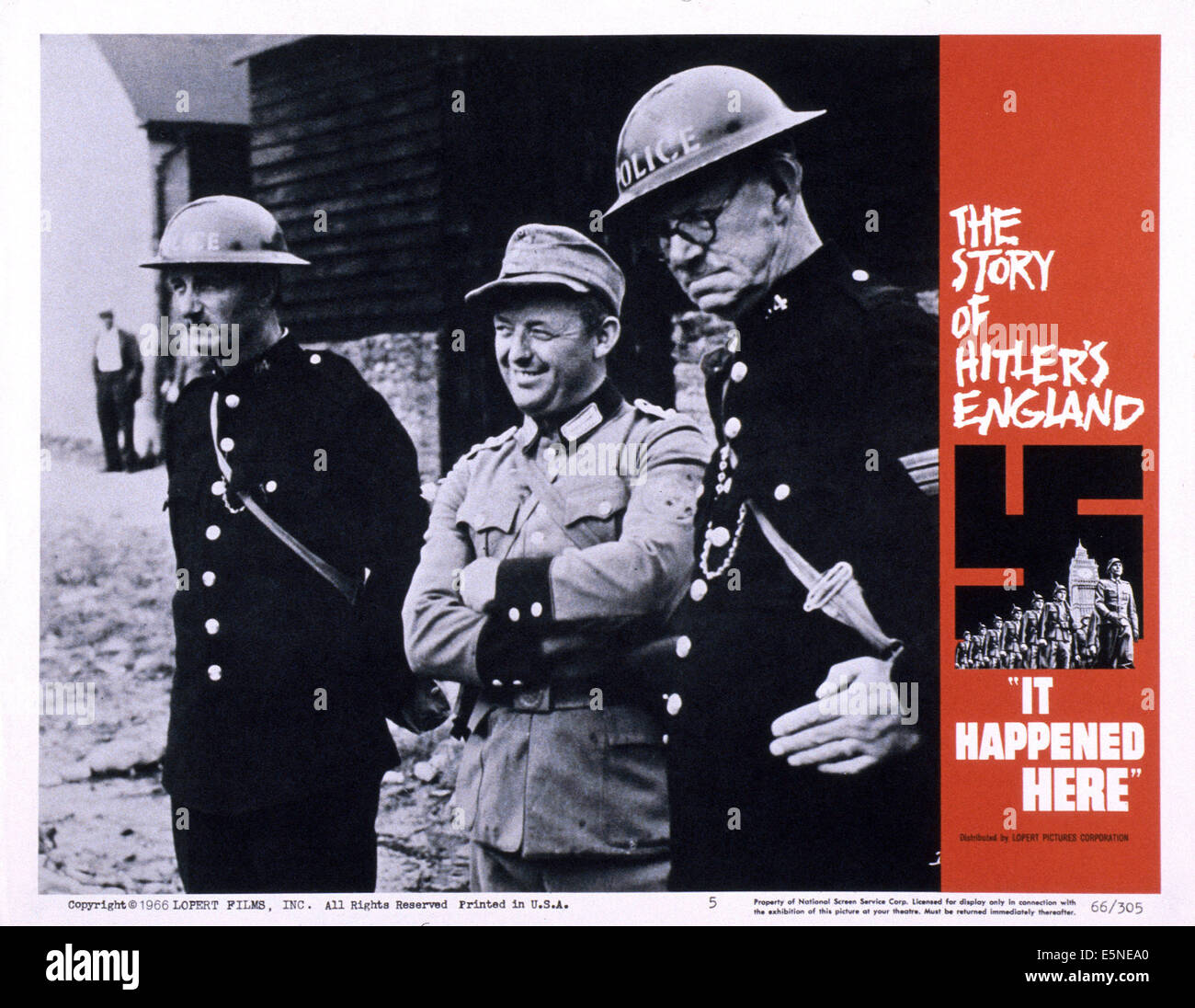 IT HAPPENED HERE, 1965 - Stock Image