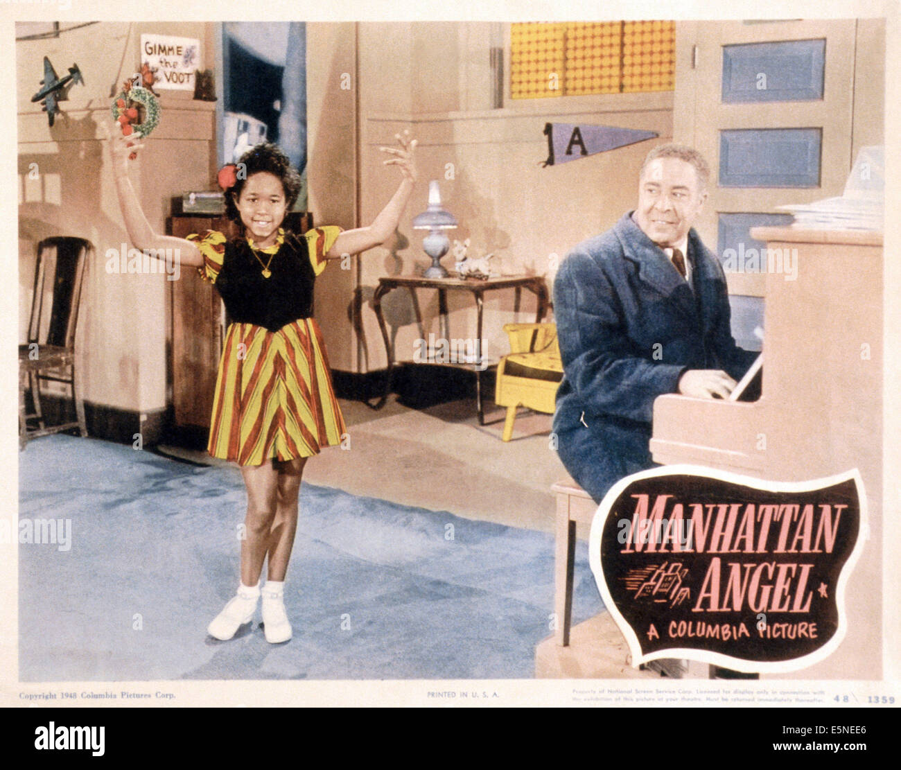 MANHATTAN ANGEL, Toni Harper (left), 1949 - Stock Image