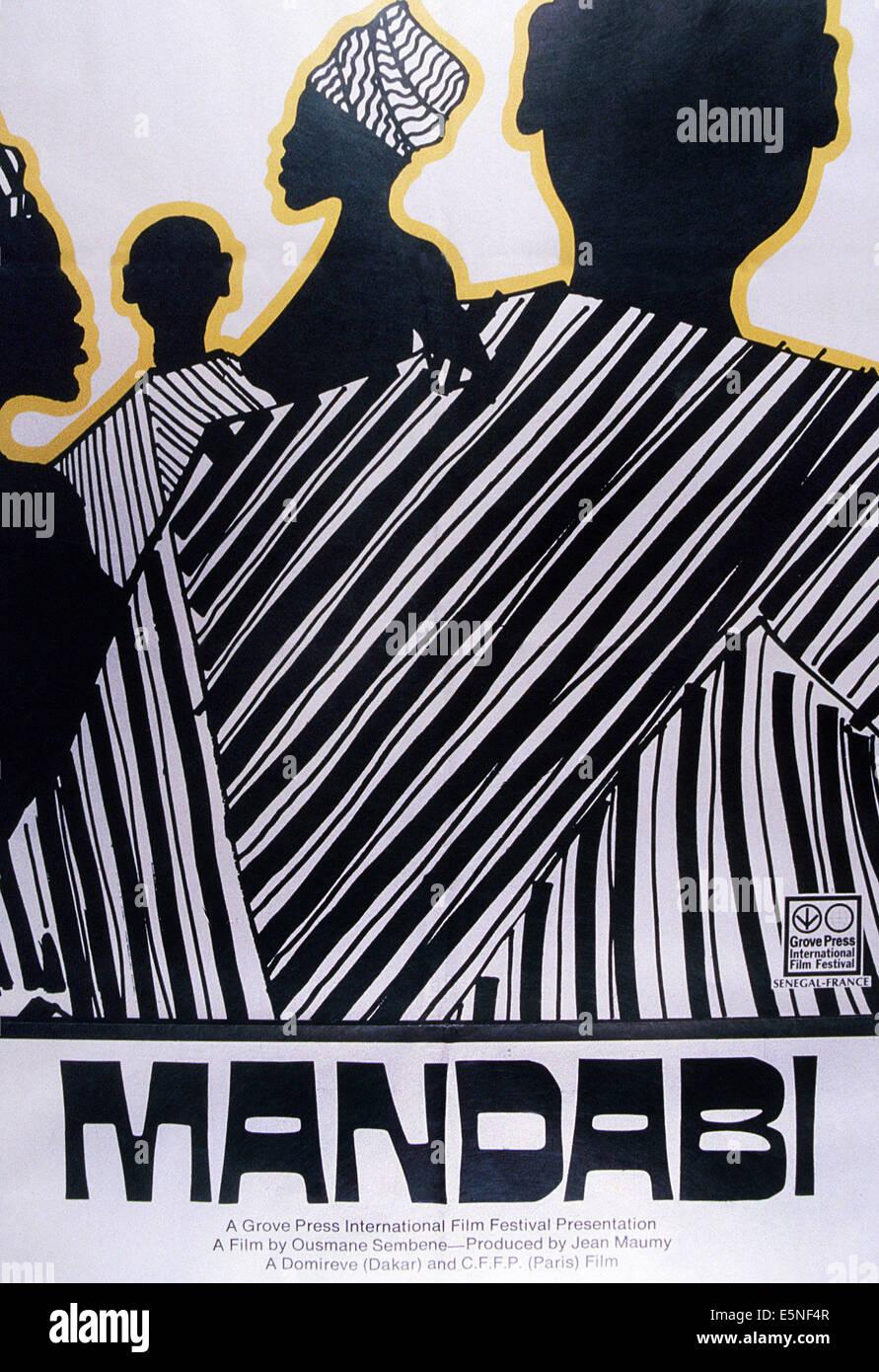 MANDABI, 1968 - Stock Image