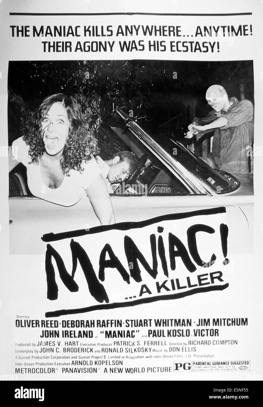 MANIAC!, (aka THE RANSOM), 1977 - Stock Image