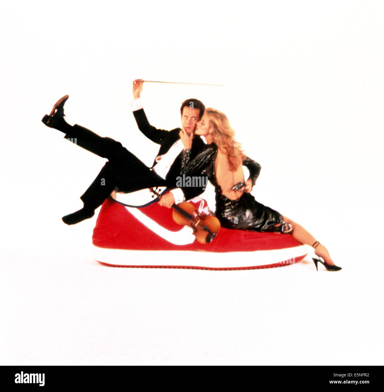 MAN WITH ONE RED SHOE, Tom Hanks, Lori Singer, 1985, TM and Copyright © 20th Century Fox Film Corp. All rights - Stock Image