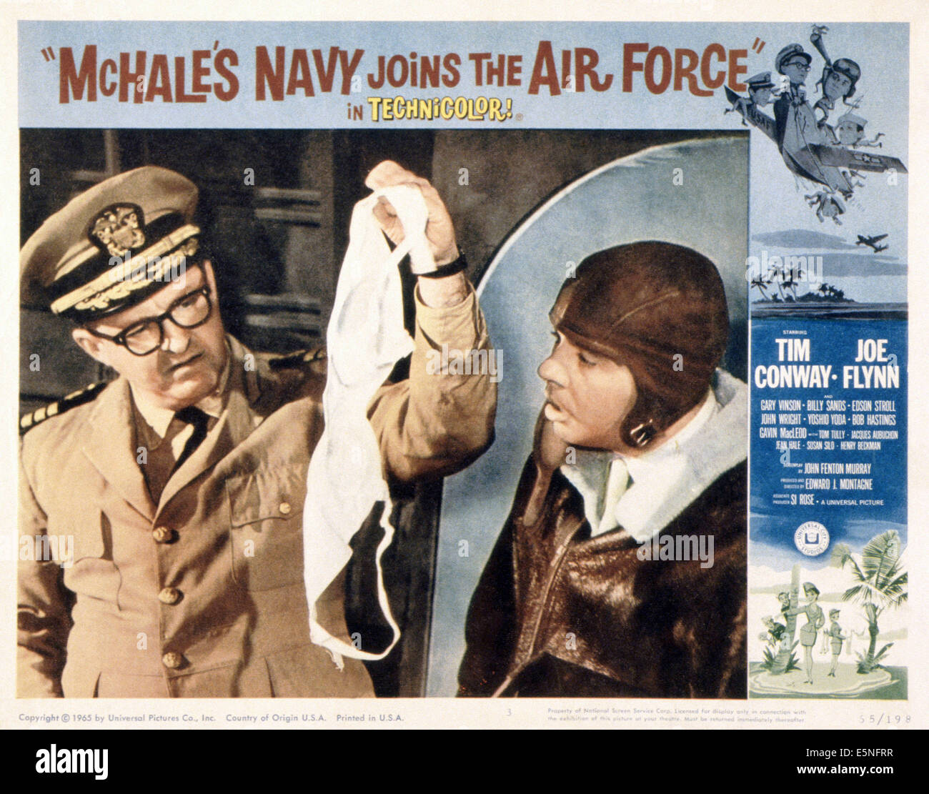 MCHALE'S NAVY JOINS THE AIR FORCE, from left: Joe Flynn, Tim Conway Stock  Photo - Alamy