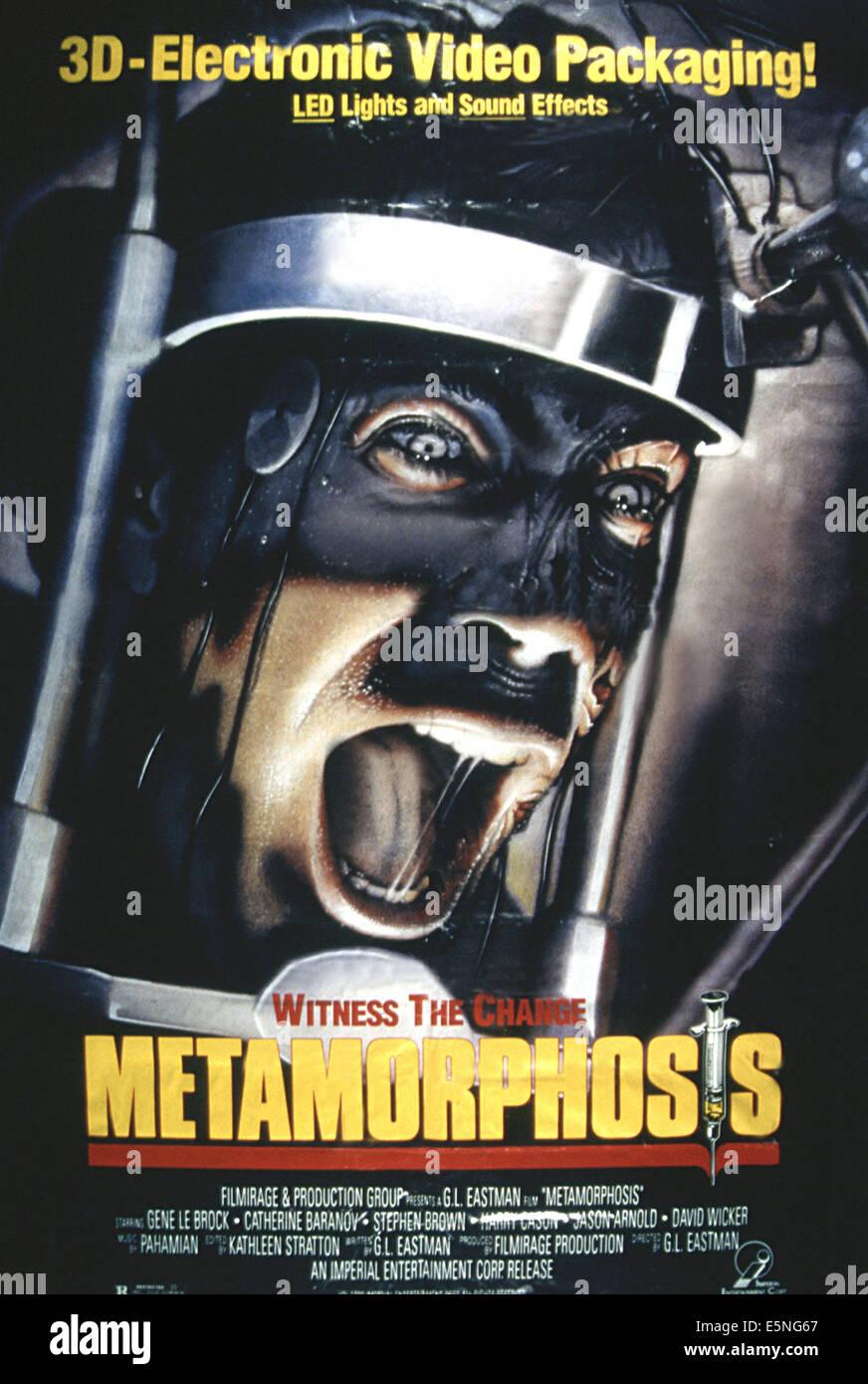 METAMORPHOSIS (aka REGENERATOR; DNA FORMULA LATALE), 1990 - Stock Image