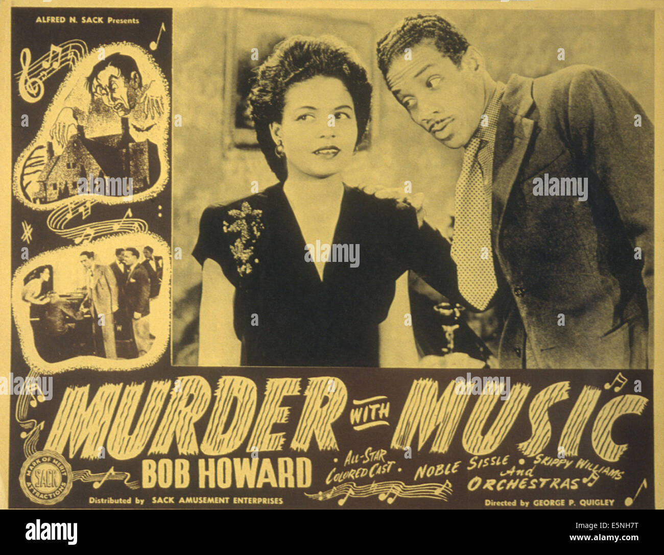 MURDER WITH MUSIC Nellie Hill Bob Howard 1941