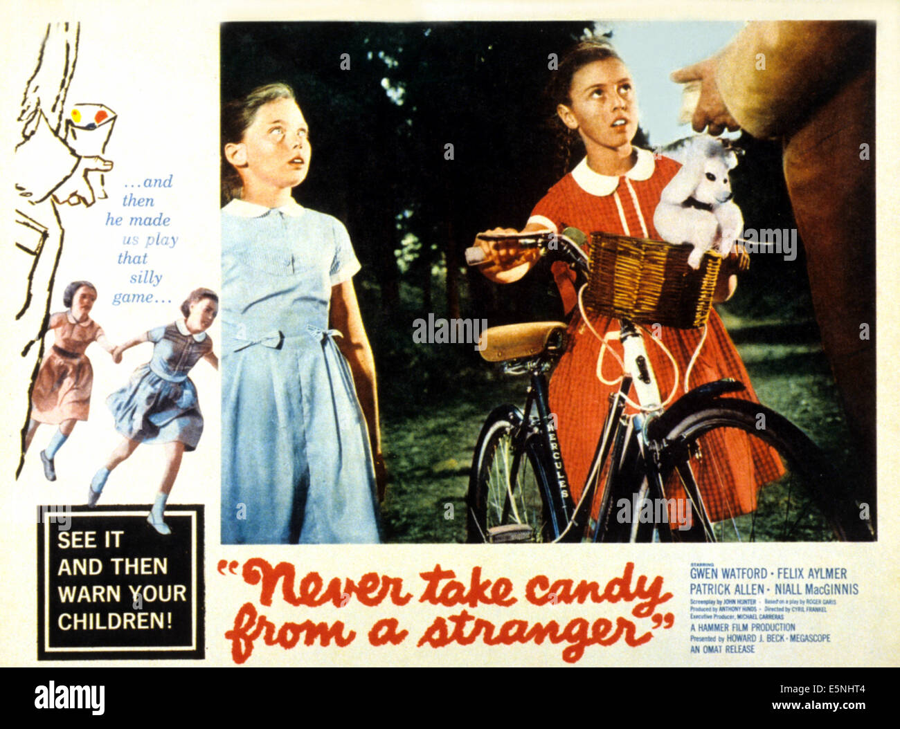 NEVER TAKE CANDY FROM A STRANGER, 1960 - Stock Image