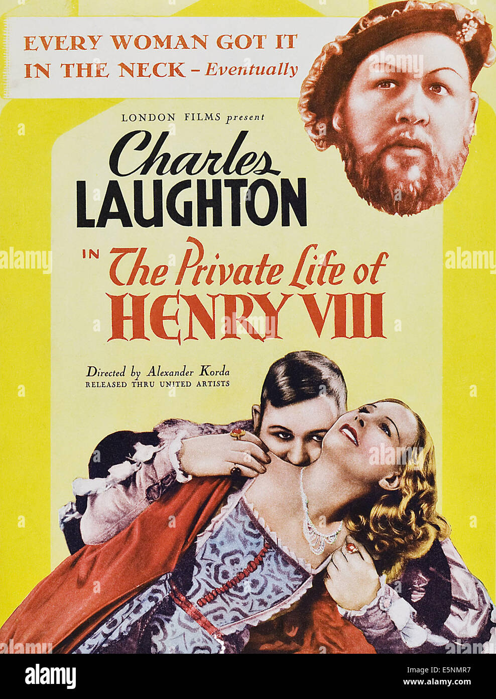 The Private Life Of Henry Viii Charles Laughton Wendy