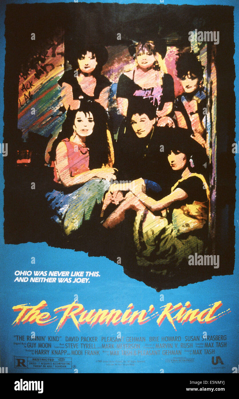 THE RUNNIN' KIND, US poster, 1989, © United Artists/courtesy Everett Collection - Stock Image