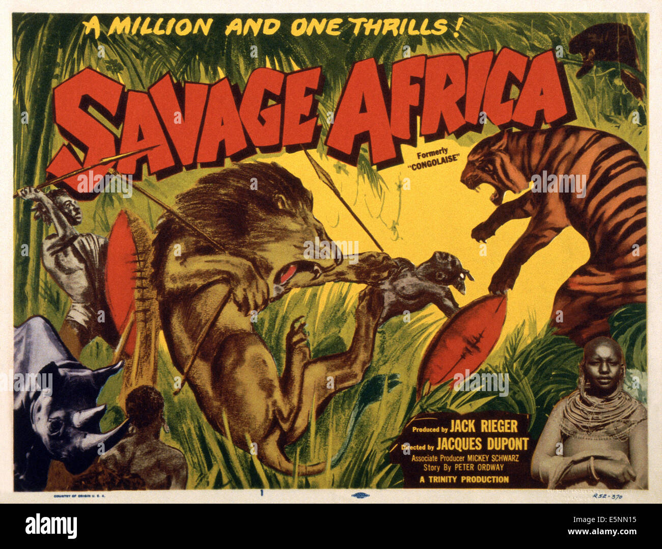 Image result for CONGOLAISE (SAVAGE AFRICA) (1950)