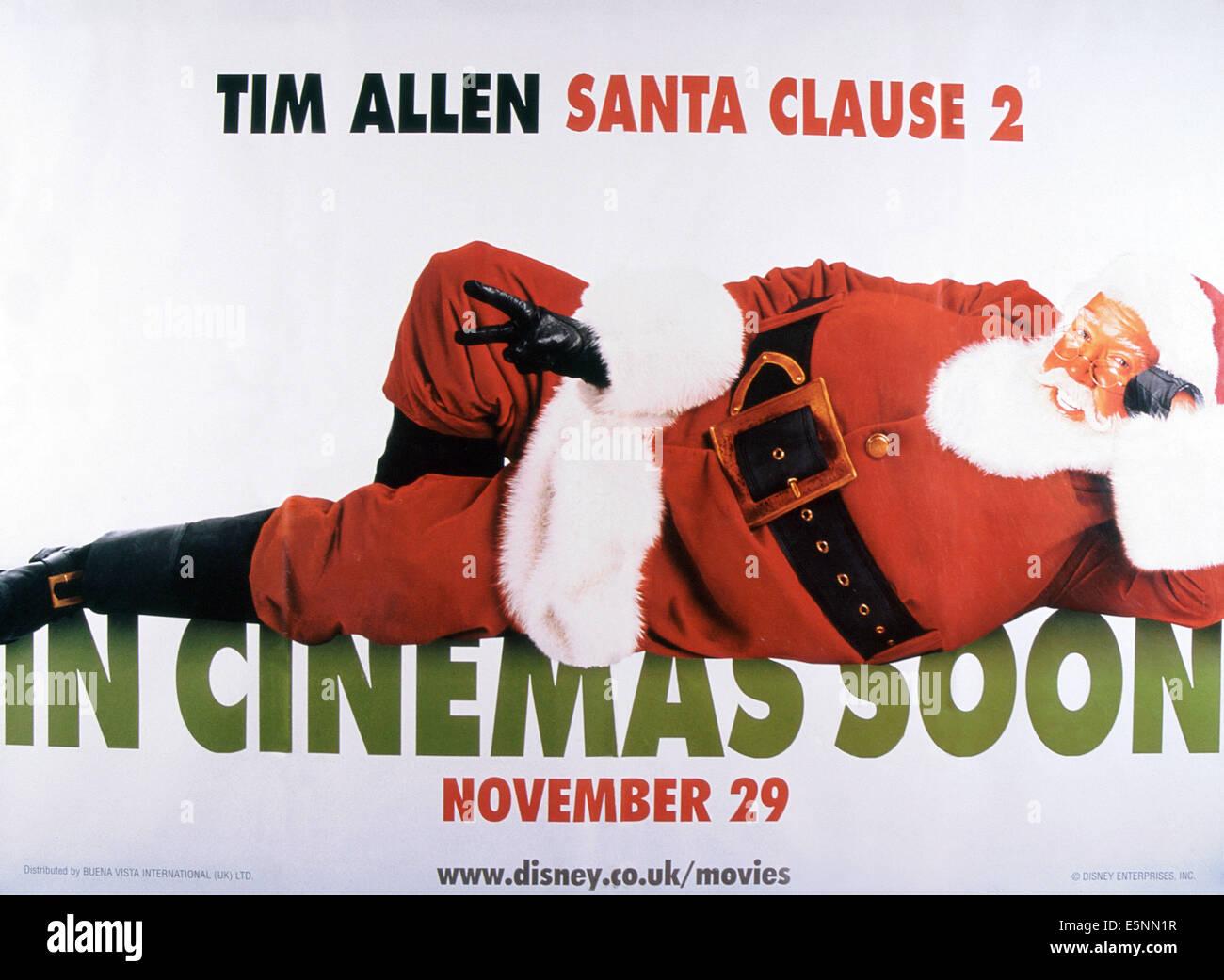 THE SANTA CLAUSE 2, US poster, Tim Allen, 2002, © Buena Vista/courtesy Everett Collection - Stock Image