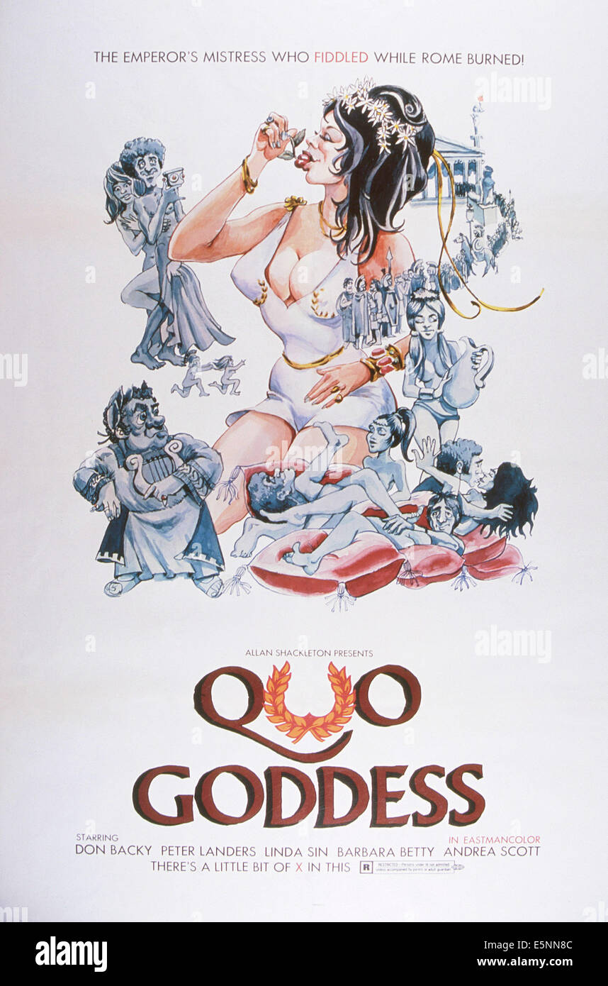 QUO GODDESS, US poster, ca. late 1960s - Stock Image