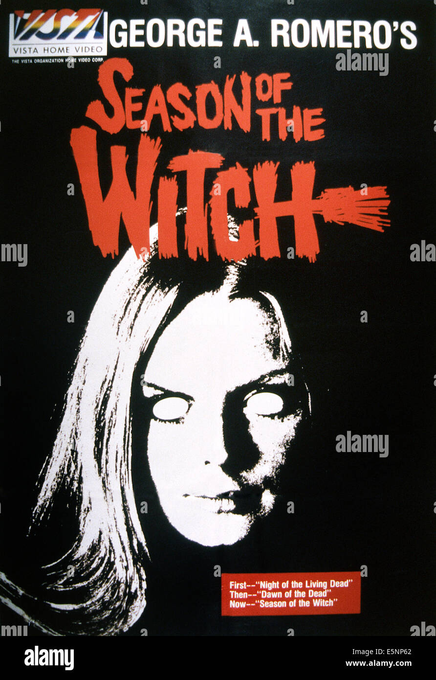 SEASON OF THE WITCH, (aka HUNGRY WIVES), US poster, 1972 - Stock Image