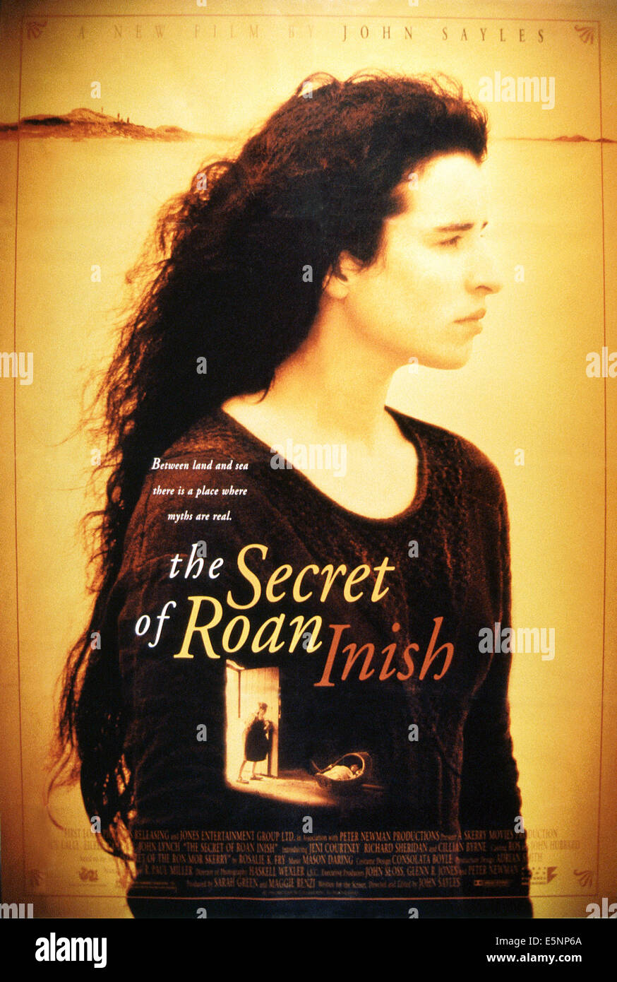 THE SECRET OF ROAN INISH, US poster, Susan Lynch, 1994, © Samuel Goldwyn/courtesy Everett Collection - Stock Image
