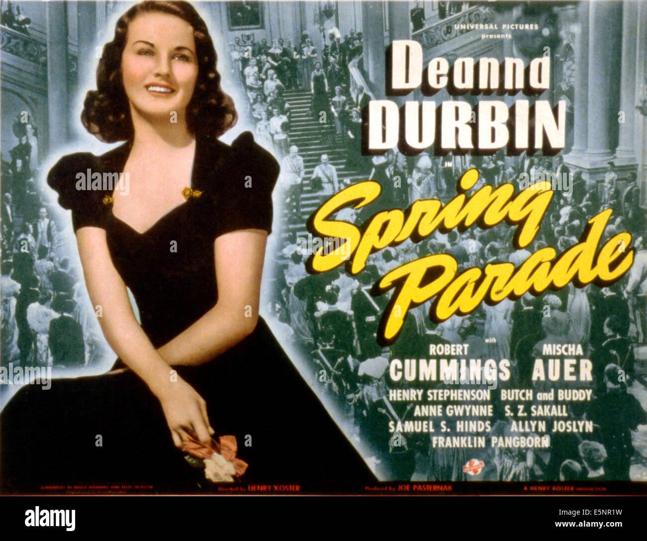 SPRING PARADE, Deanna Durbin, 1940 - Stock Image