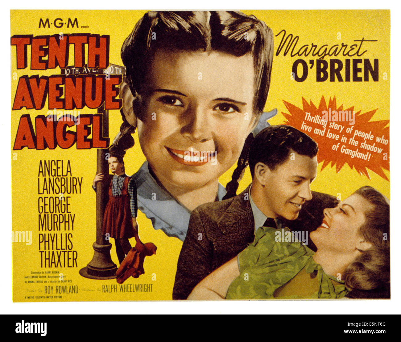 TENTH AVENUE ANGEL, Margaret O'Brien, George Murphy, Angela Lansbury, 1948 - Stock Image