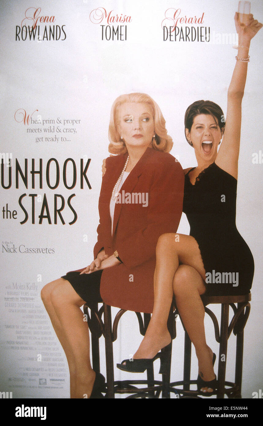 UNHOOK THE STARS, US poster, from left: Gena Rowlands, Marisa Tomei, 1996, © Miramax/courtesy Everett Collection - Stock Image
