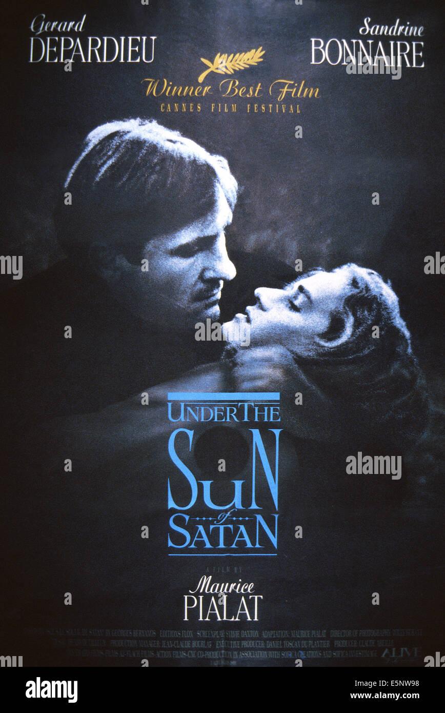 Under The Sun Of Satan Aka Sous Le Soleil De Satan Aka Under Satans Sun Us Poster Art From Left Gerard Depar U