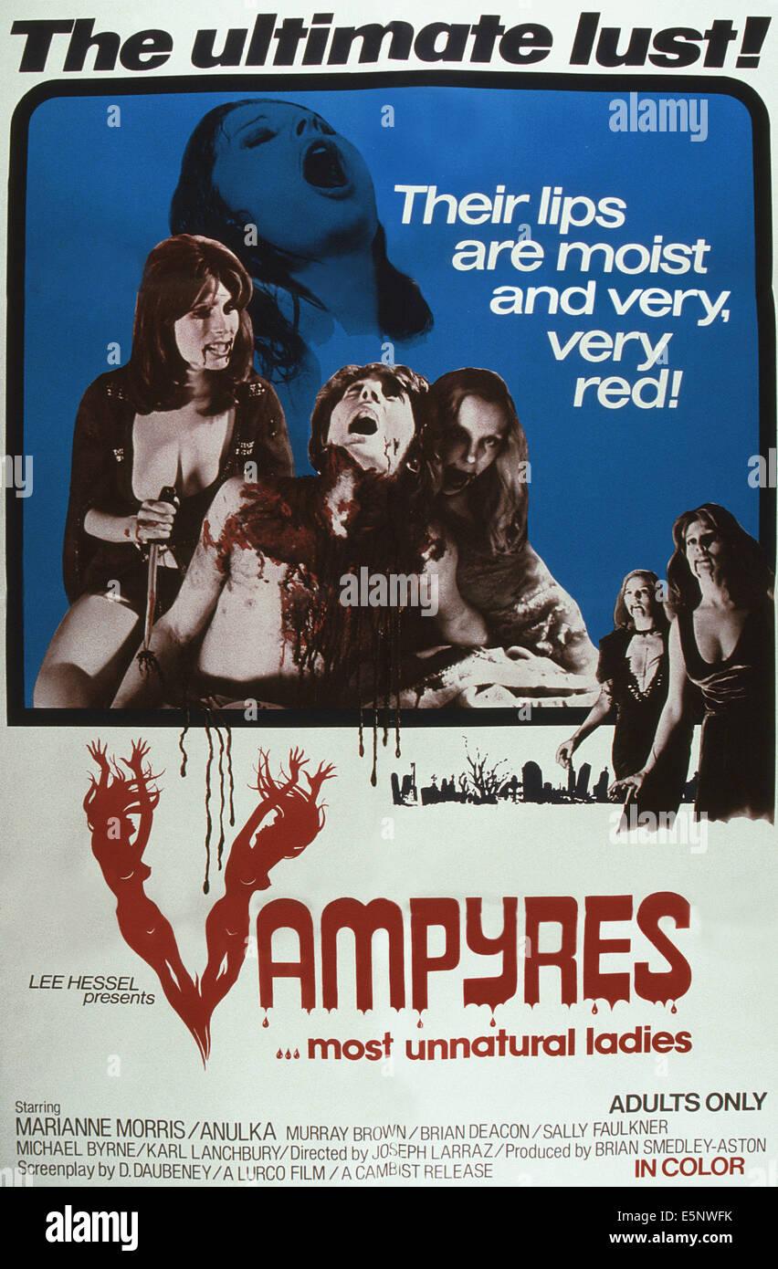 Vampyres 1974 Movie Poster