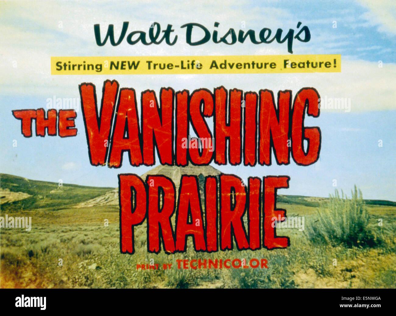 THE VANISHING PRAIRIE, 1954. - Stock Image