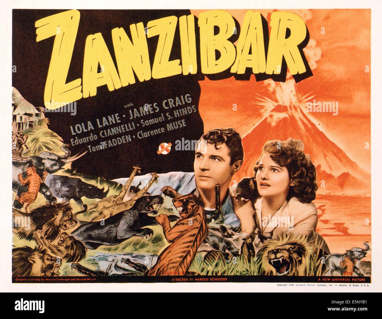 zanzibar-us-lobbycard-from-left-james-craig-lola-lane-1940-E5NYB1.jpg