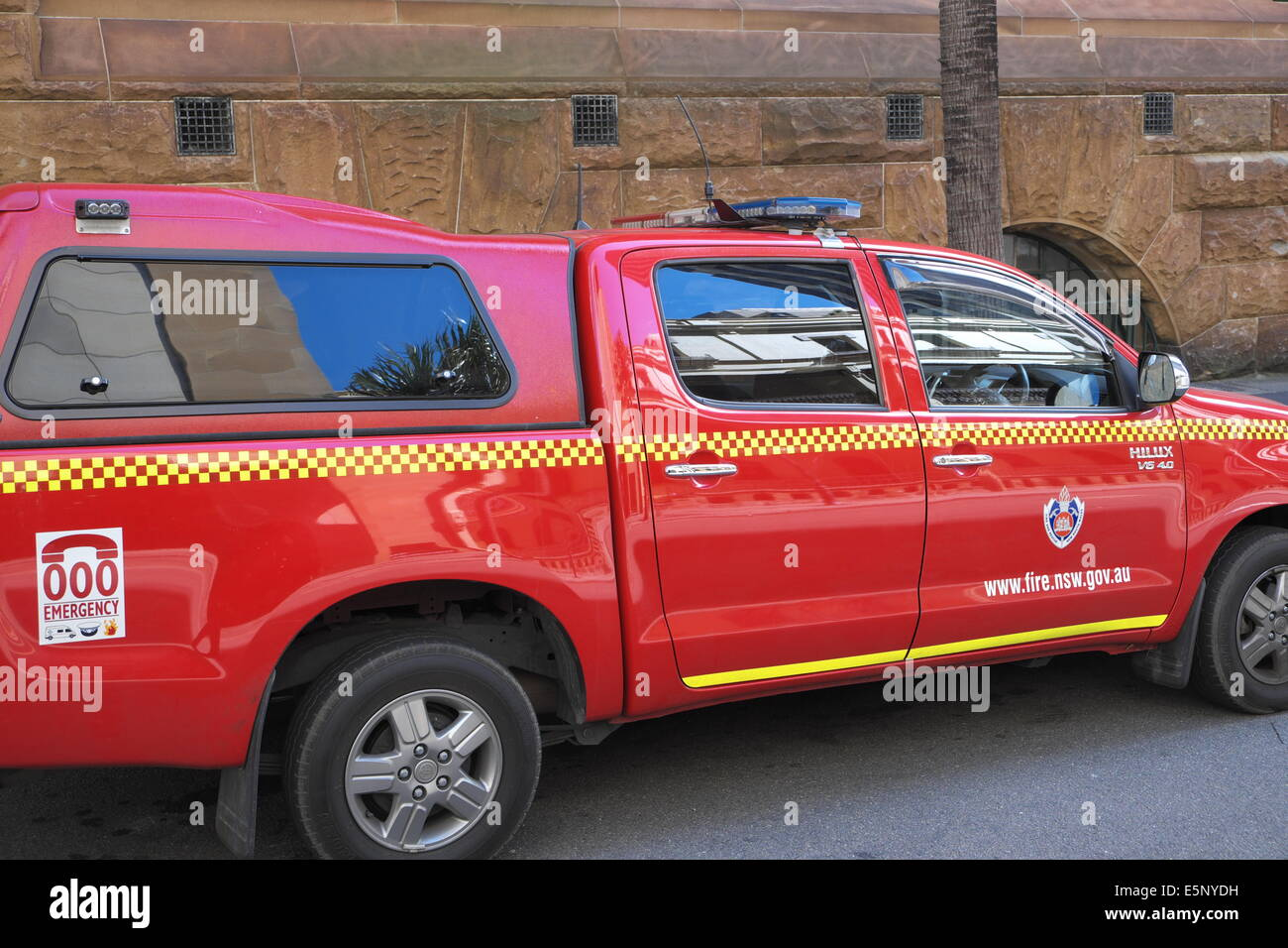 New South Wales Nsw Fire Service Vehicle A Toyota Hilux