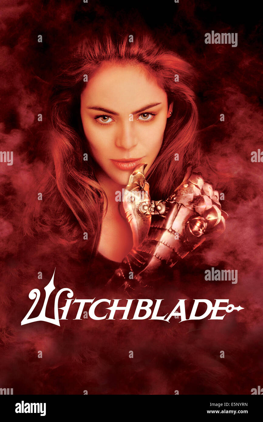 WITCHBLADE, Yancy Butler,  2001-2002. (c) TNT/ Courtesy: Everett Collection. - Stock Image