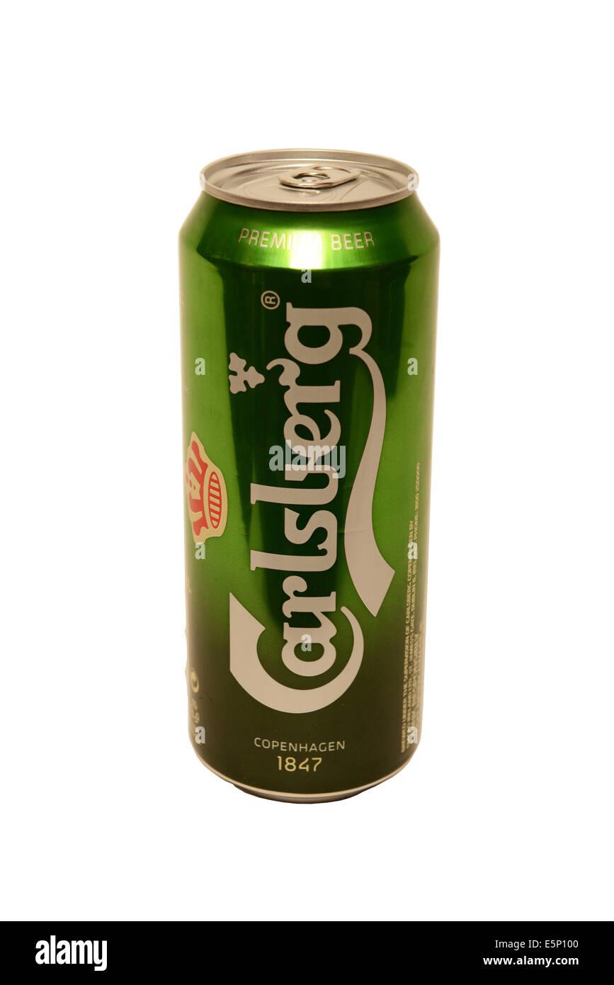Carlsberg Lager - Stock Image