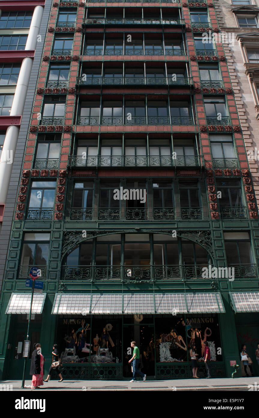 Mango Store On Broome Street In SoHo, New York City